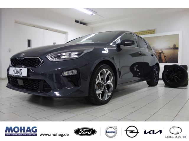 Kia Cee'd 1.4 T-GDI Platinum*NAVI*SITZVENTILATION*LEDER*, Jahr 2019, Benzin