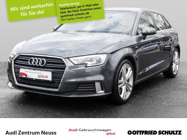 Audi A3 Sportback sport 1.0 TFSI NAVI, KLIMA, SHZ, XEN S line, Jahr 2017, Benzin