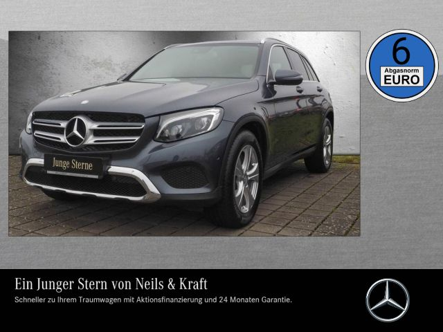 Mercedes-Benz GLC 220d 4M EXCLUSIVE+AHK+LED ILS+FERNL ASS+PDC+, Jahr 2015, Diesel