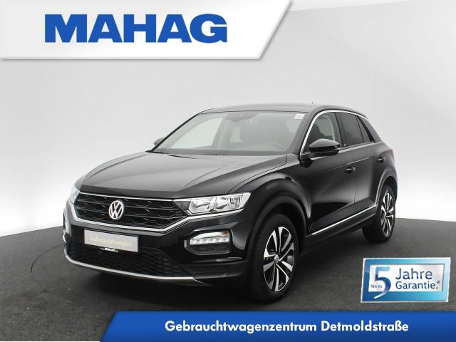 Volkswagen T-ROC 1.5 TSI UNITED Navi eKlappe AppConnect Sitzhz. ParkPilot FrontAssist 17Zoll DSG, Jahr 2020, Benzin