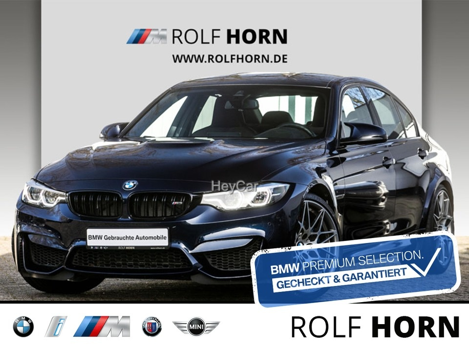 BMW M3 Competition Aut Navi Prof HUD M Drivers Pack, Jahr 2018, Benzin