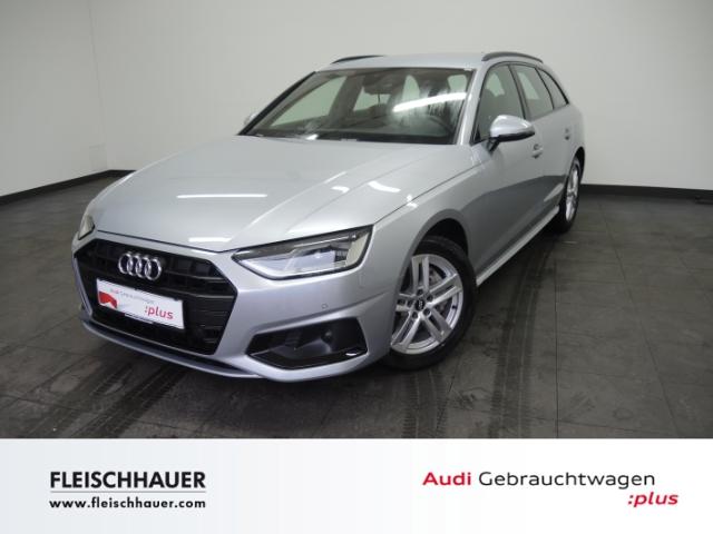 Audi A4 Avant 40 advanced Navi Leder AHK UPE 60.354, Jahr 2019, Diesel