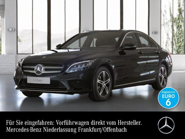 Mercedes-Benz C 200 d AVANTG+LED+Burmester+Keyless+9G, Jahr 2021, Diesel