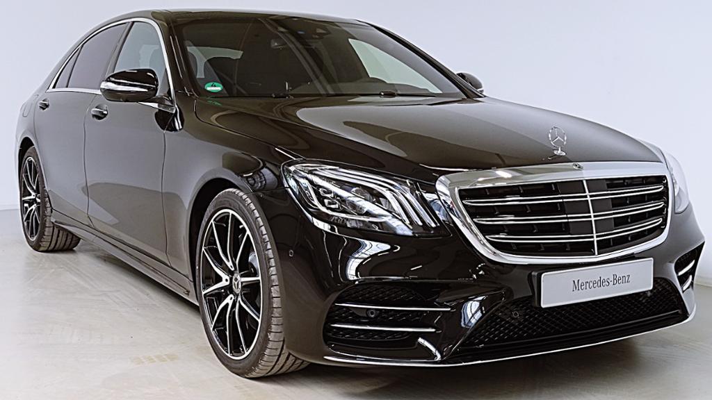 Mercedes-Benz S 400 d 4m Lang AMG/Multibeam-LED/Standheizung/, Jahr 2018, diesel