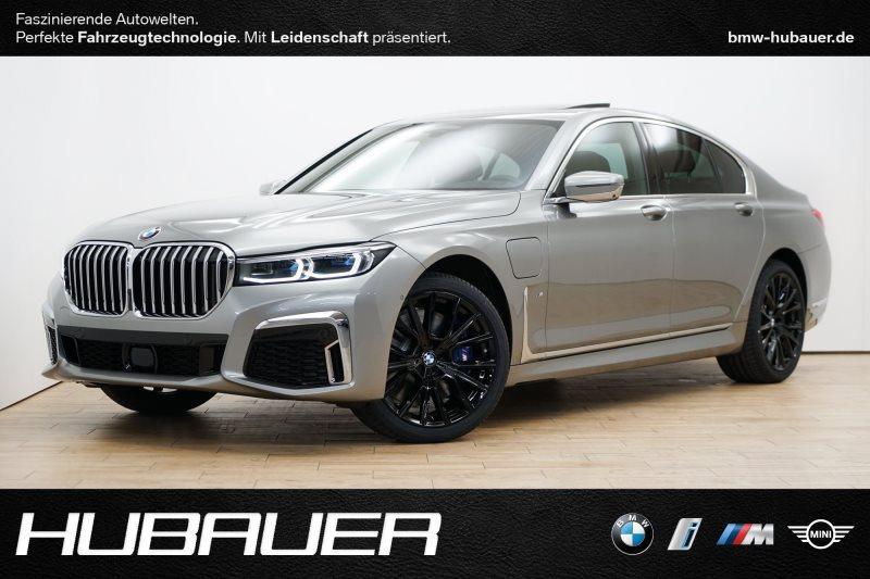 BMW 745e Limousine [M Sportpaket, Navi, HUD, DAB], Jahr 2019, hybrid