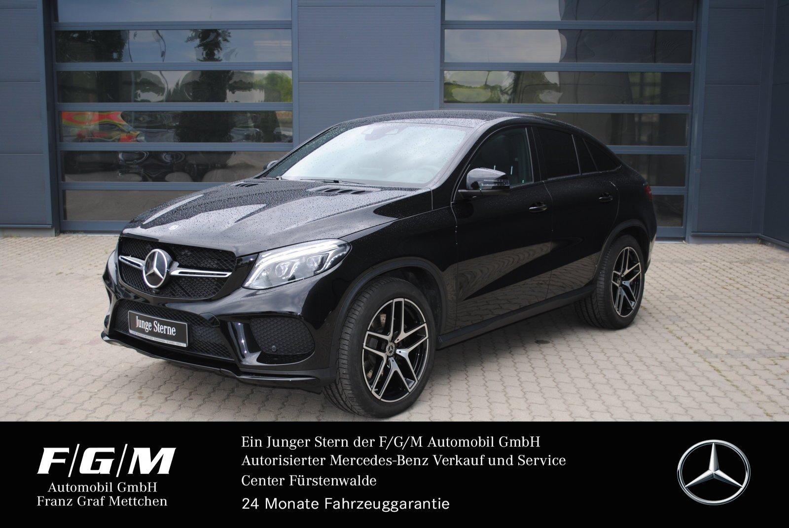Mercedes-Benz GLE 500 4M AMG/COM/Pano/Distr/360/TV/Mem/Airmati, Jahr 2017, Benzin