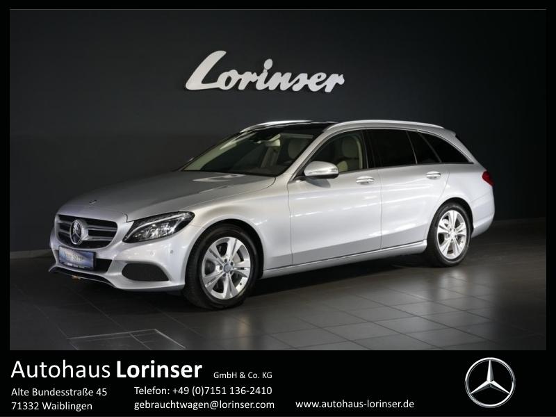 Mercedes-Benz C 250 BT T LED/NAVI/PANO/StHz/AHK, Jahr 2014, Diesel