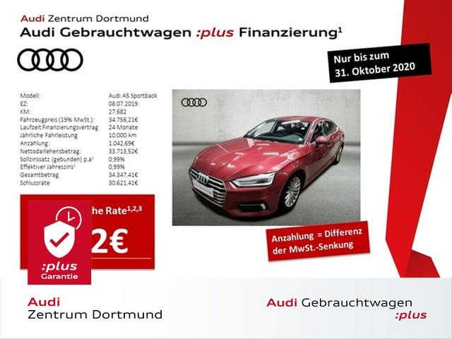Audi A5 Sportback sport 40TDI qu. Navi+/Leder/eSitze/DAB, Jahr 2019, Diesel