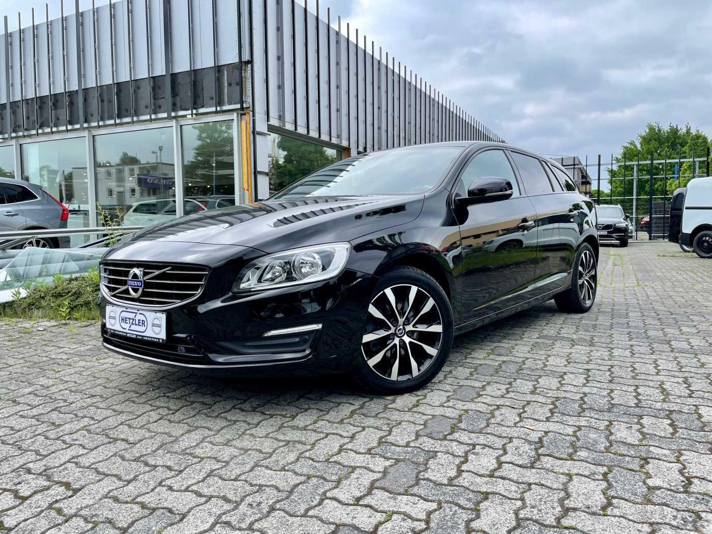 Volvo V60 D3 Geartronic Linje Svart, Jahr 2018, Diesel