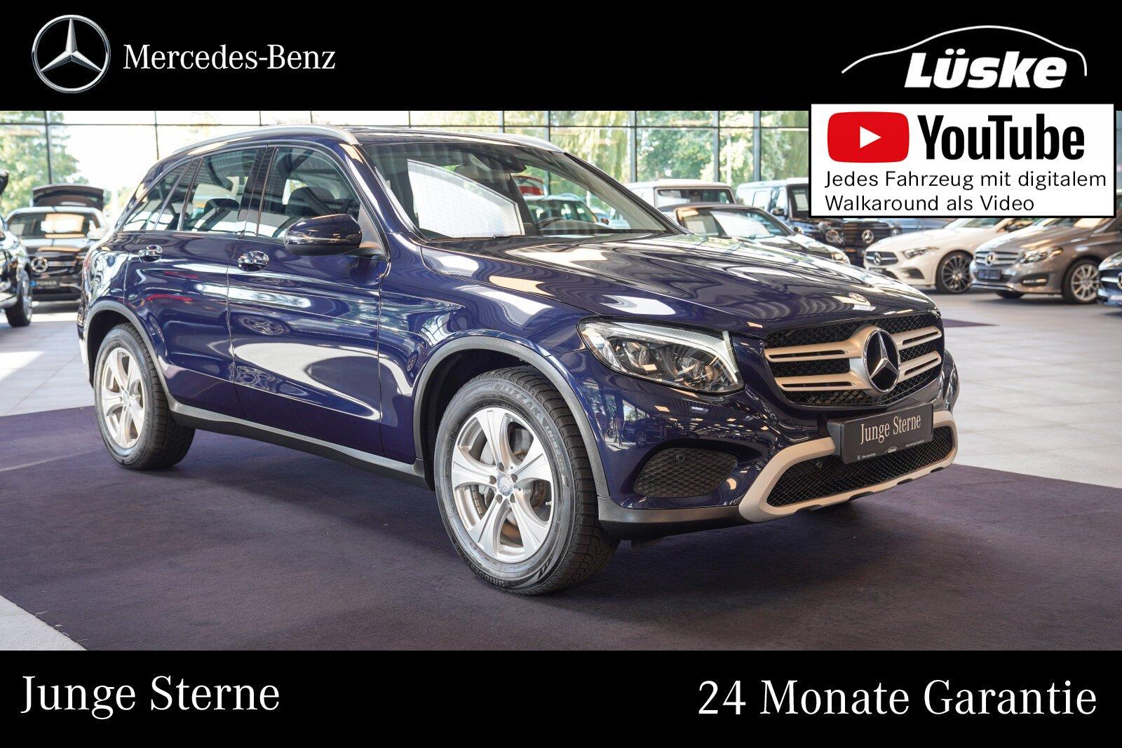 Mercedes-Benz GLC 250 d 4M COMAND Akustikglas Fernlicht-Assist, Jahr 2015, Diesel