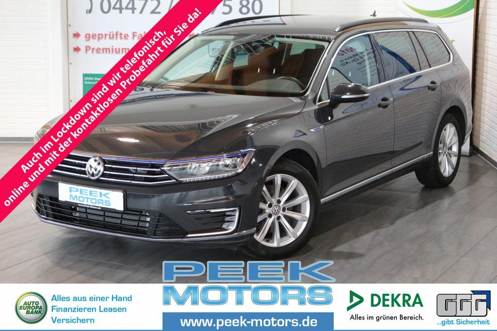 Volkswagen Passat GTE Variant 1.4TSI Plug-In-Hybrid DSG AHK LED ACC Discover Media Alu, Jahr 2017, Hybrid