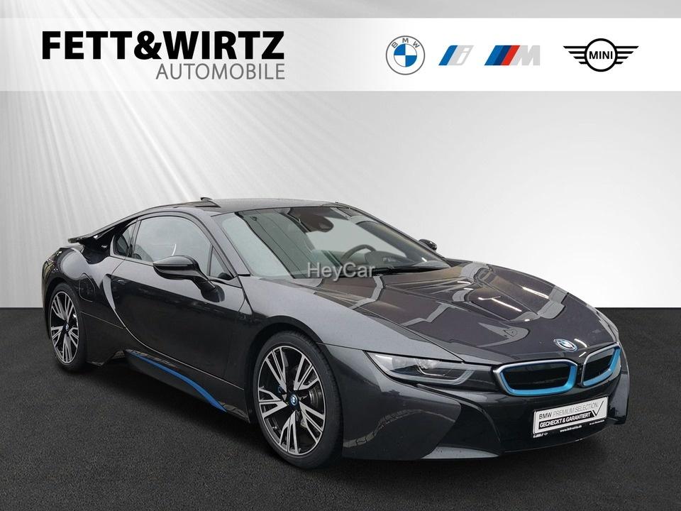 BMW i8 Coupe 20'' Laser HUD H/K Leas ab 999,- br.o.A., Jahr 2019, Hybrid