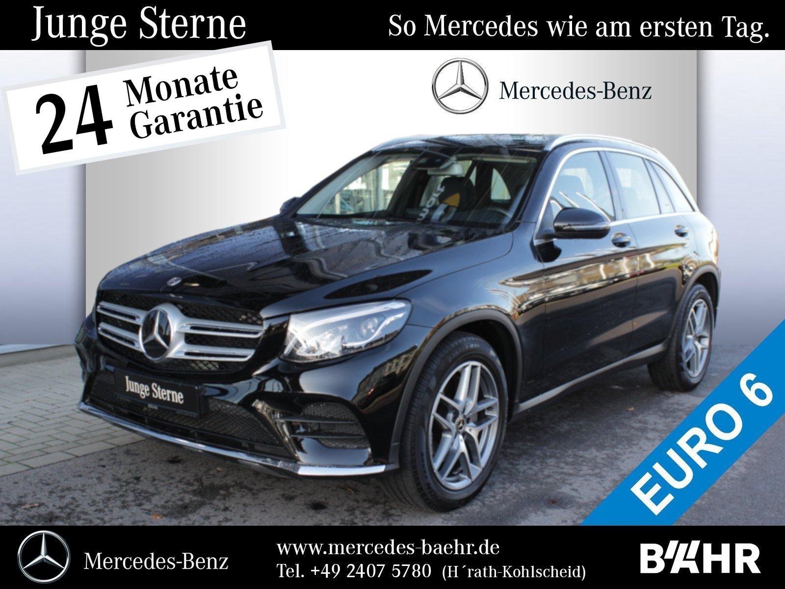 Mercedes-Benz GLC 300 4M AMG/Comand/LED/Distronic/Standheizung, Jahr 2017, petrol