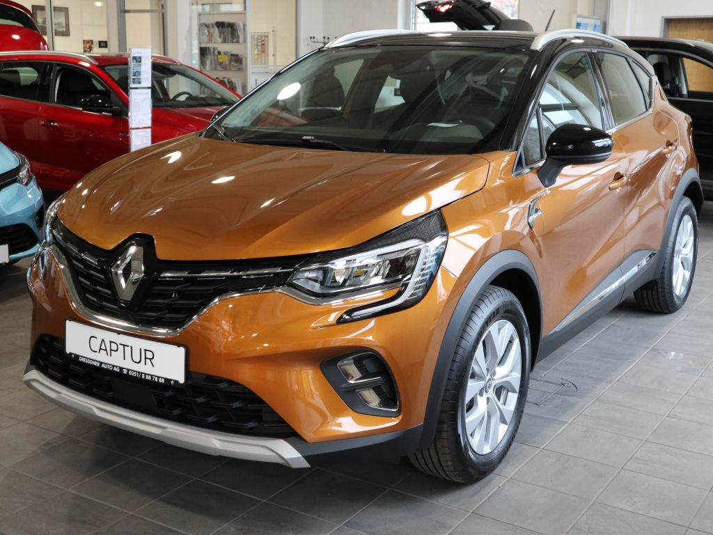 Renault Captur TCe 130 EDC GPF INTENS, Jahr 2020, Benzin