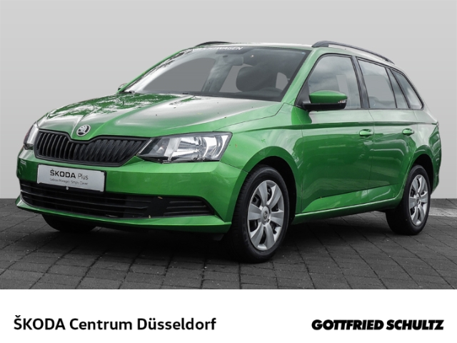 Skoda Fabia Combi 1.0 TSI - DAB CLIMA EURO 6 Cool Plus, Jahr 2018, Benzin
