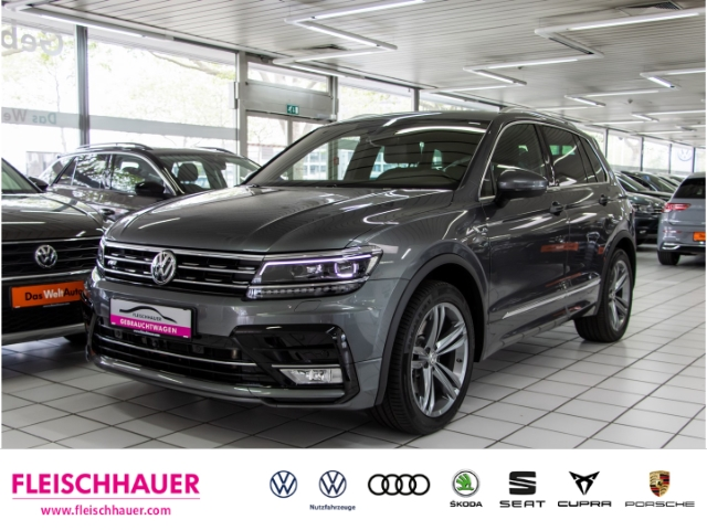 Volkswagen Tiguan Highline BMT Start-Stopp 4Motion 2.0 TSI R-Line PDC KLIMA LED NAVI, Jahr 2017, Benzin