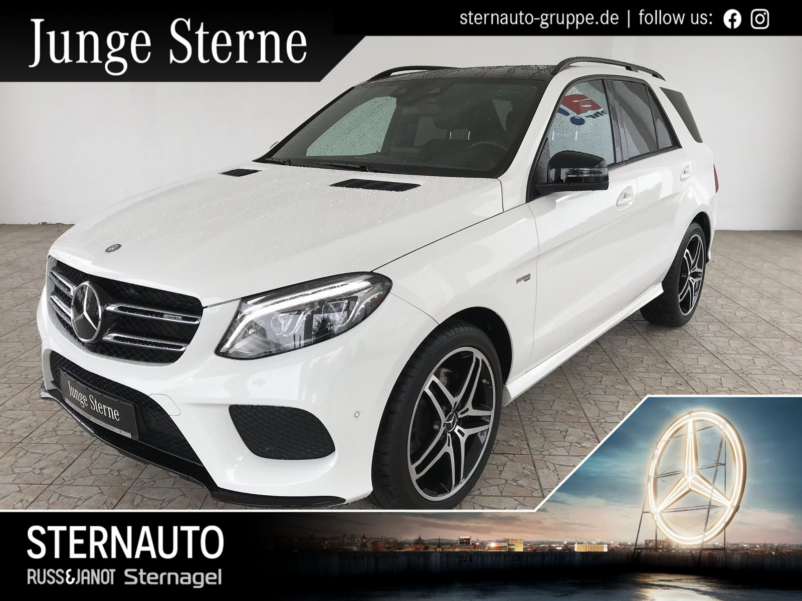 Mercedes-Benz GLE 43 AMG 4M COMAND/Standhzg./Pano.-Dach/AHK, Jahr 2017, Benzin