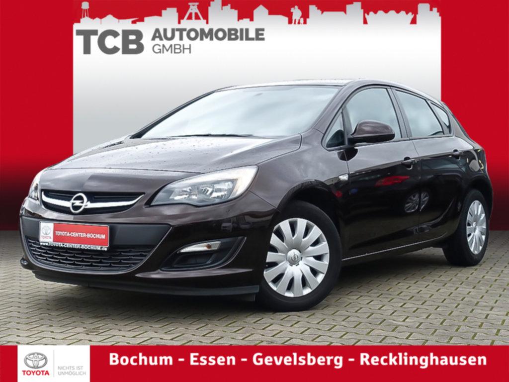 Opel Astra SELECTION 1.6 KLIMA BT ZV SERVO AUX USB, Jahr 2015, Benzin