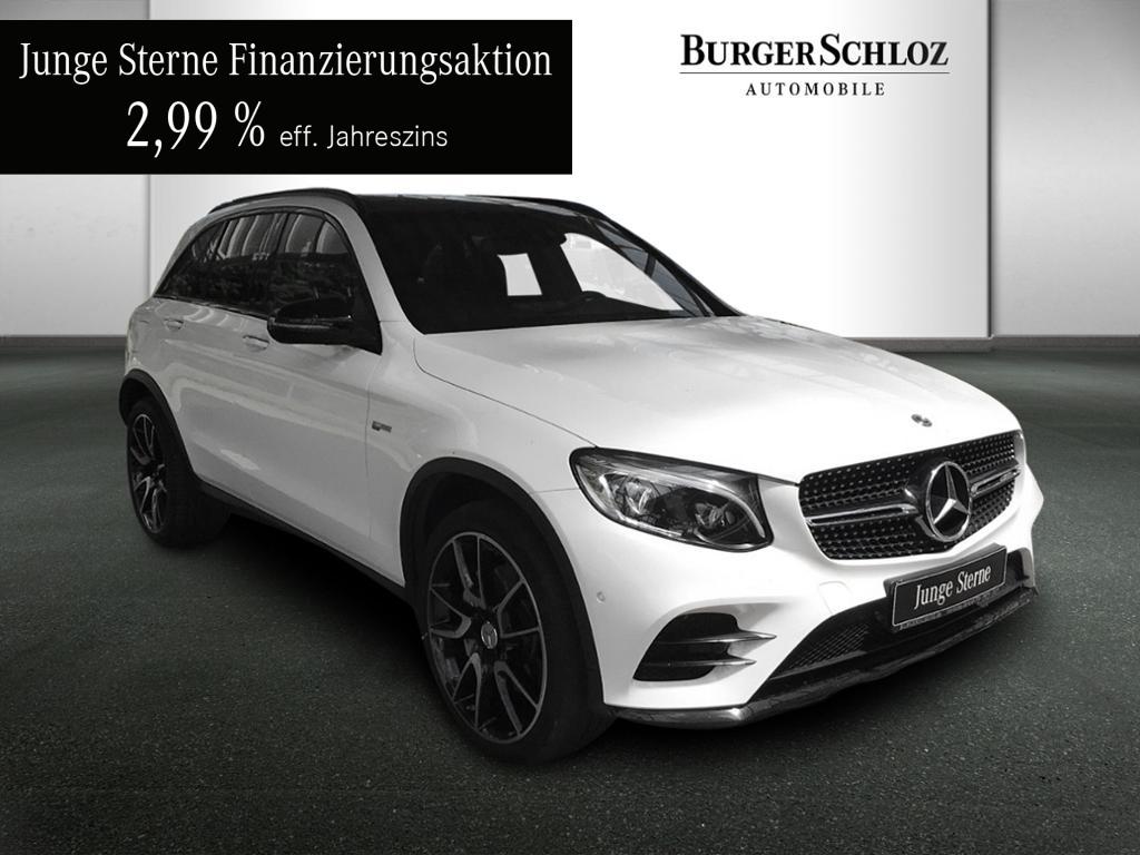 Mercedes-Benz GLC 43 AMG 4MATIC Burmester/Comand/Pano.-Dach, Jahr 2017, Benzin