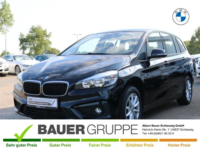 BMW 216 Gran Tourer d Advantage Navi LED-Tagfahrlicht Multif.Lenkrad RDC Klimaautom SHZ Temp, Jahr 2016, Diesel