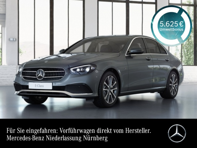 Mercedes-Benz E 300 de AVANTG+MultiBeam+Fahrass+Kamera+Keyless, Jahr 2020, Hybrid_Diesel
