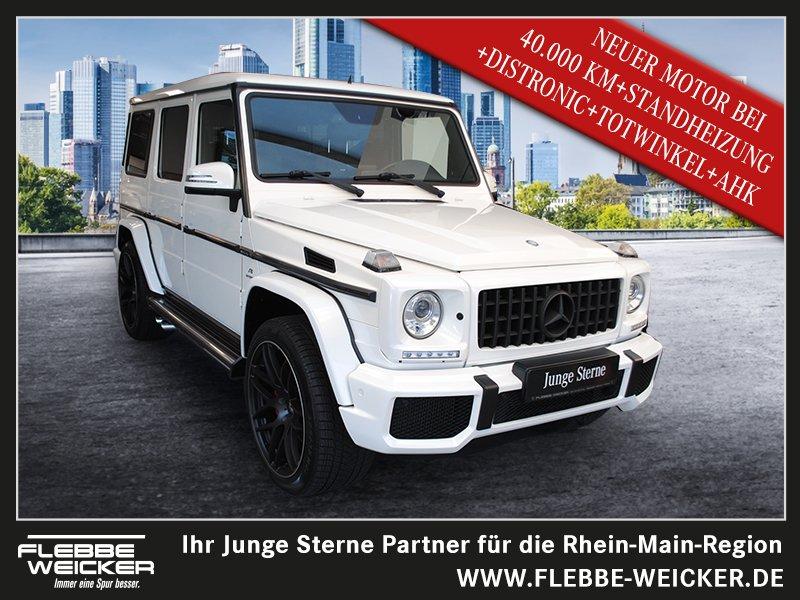 """Mercedes-Benz G 63 AMG+NEUER MOTOR BEI 41 TSDKM+22""""WKR+STANDH., Jahr 2016, petrol"""