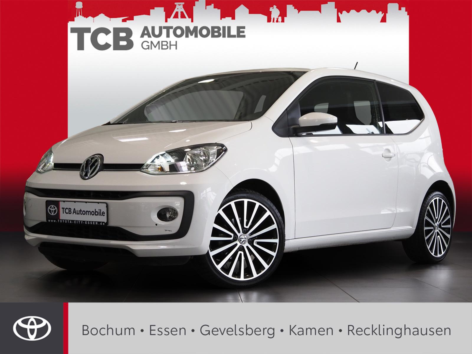 Volkswagen up UP HIGH UP LIMOUSINE 1,0 SERVO ABS ESP SHZ, Jahr 2019, Benzin