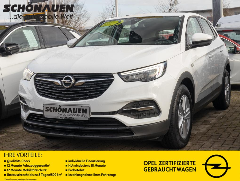 Opel Grandland X 1.2 EDITION +INTELLILINK+GRA+PDC++, Jahr 2017, Benzin