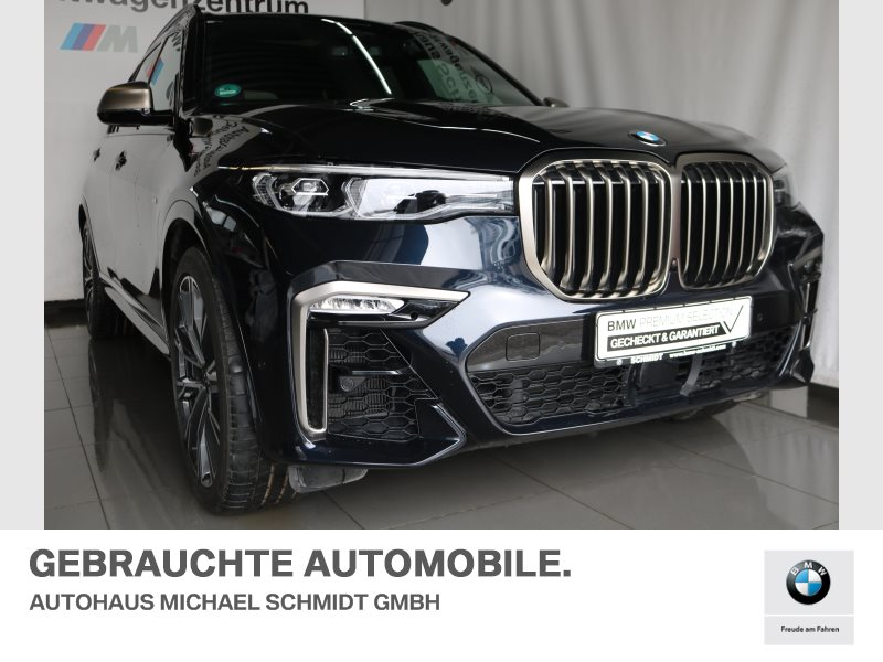 BMW X7 M50d INDIVIDUAL+AHK+MASSAGE+FOND ENTERTAINMENT+, Jahr 2019, diesel