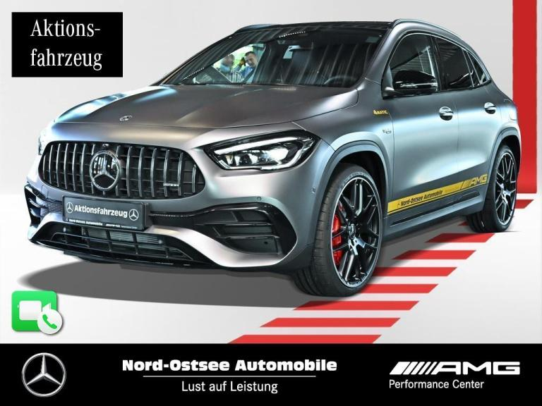 Mercedes-Benz AMG GLA 45 S 4m+ NIGHT MAGNO 21-ZOLL VMAX PANO, Jahr 2020, Benzin