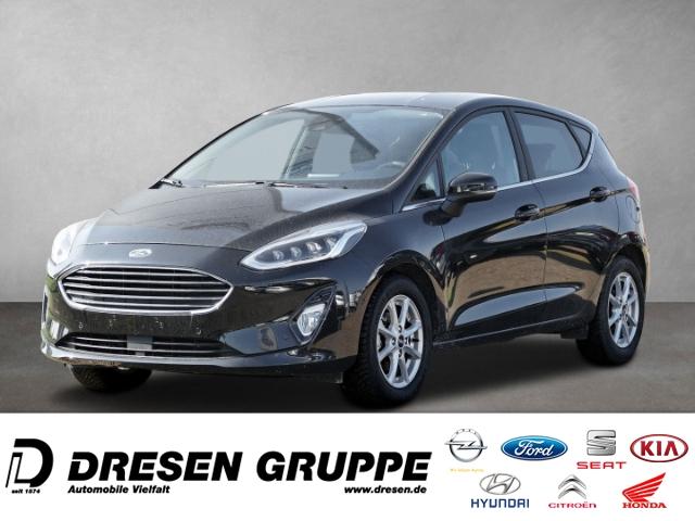Ford Fiesta Titanium 1.0 EcoBoost MHEV EU6d-T, Jahr 2020, Benzin