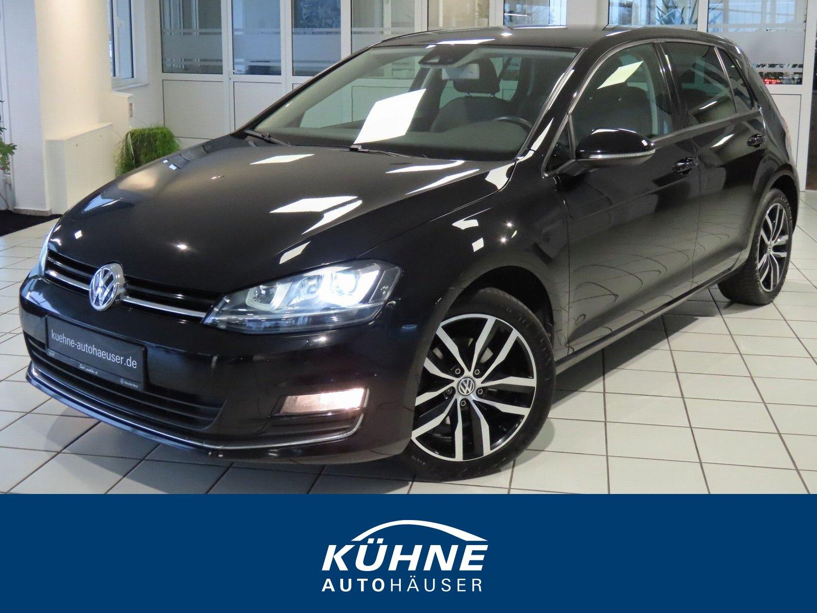 Volkswagen Golf VII 1.4 TSI Life BiXenon+1.Hand+Scheckheft, Jahr 2013, Benzin