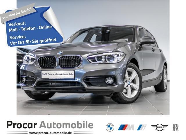 BMW 118i Sport Line Navi Business Glasdach ab 1%, Jahr 2017, Benzin