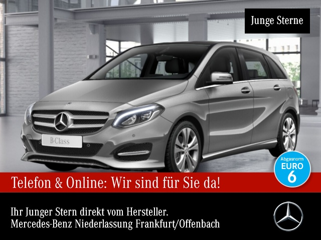 Mercedes-Benz B 200Edition B LED Navi Laderaump Spiegel-P PTS, Jahr 2017, Benzin