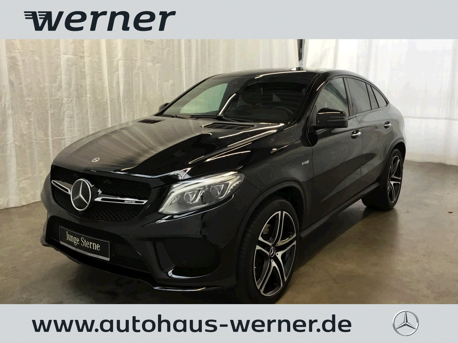 Mercedes-Benz GLE 43 AMG Coupe+ACTIVE CURVE+AIRMATIC+PANO+360°, Jahr 2017, Benzin