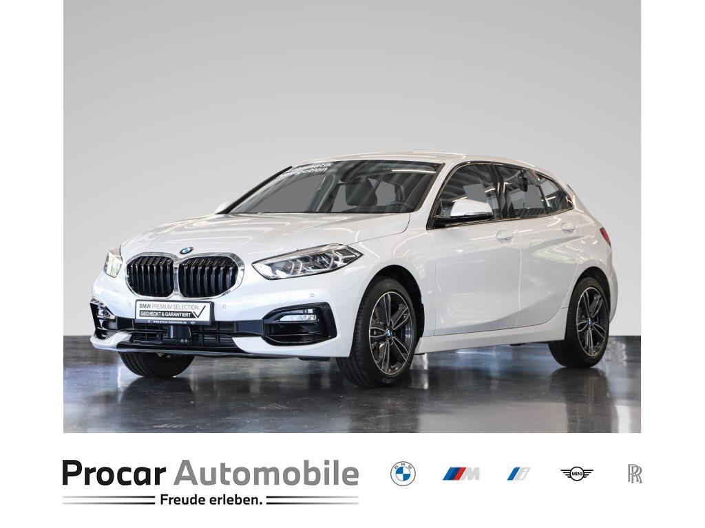 BMW 116i Sport Line Nav LED Shz PDCv+h Sportsitz 17, Jahr 2021, Benzin