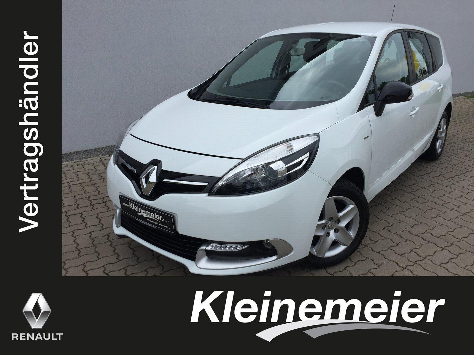 Renault Grand Scenic Limited 1.2 TCe 115*Klima*AHK*, Jahr 2016, Benzin