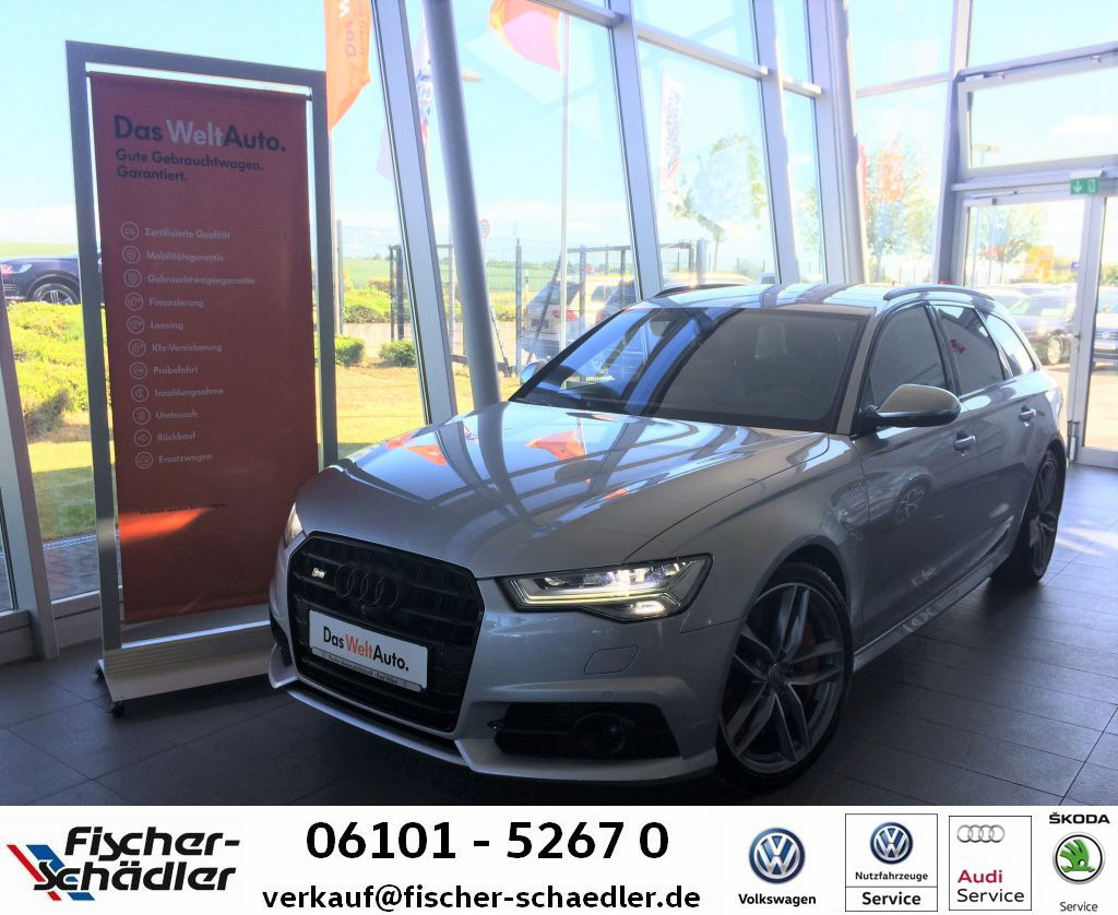 Audi S6 Avant quattro 4.0TFSI*AHK*20''*Assisten.P.*St, Jahr 2016, Benzin