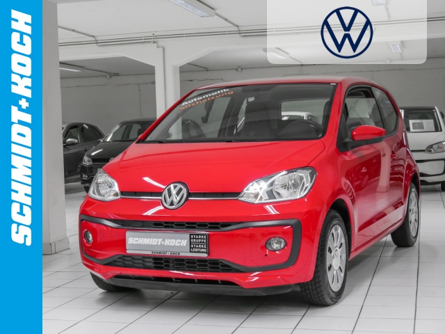 Volkswagen up! 1.0 BMT move up! ASG-Getriebe, SZH maps +, Jahr 2017, Benzin