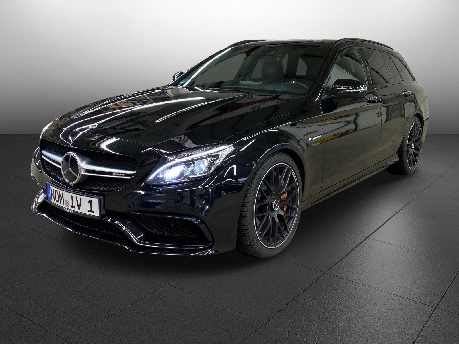 Mercedes-Benz C 63 S AMG T 4.0 V8 AT*Navi*Leder*Keramikb*, Jahr 2017, Benzin
