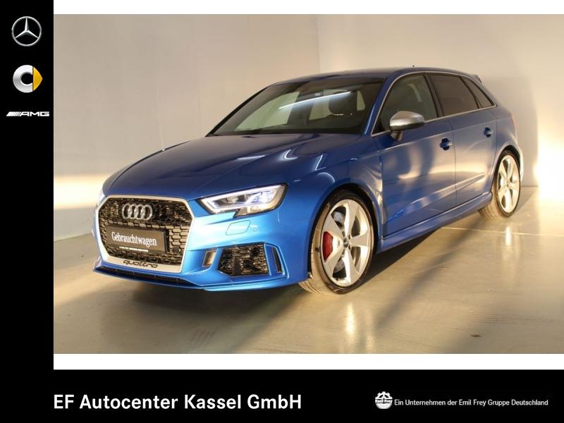 Audi RS3 Sportback+280km/h+Design+Komfort+B&O+Virtual, Jahr 2017, petrol