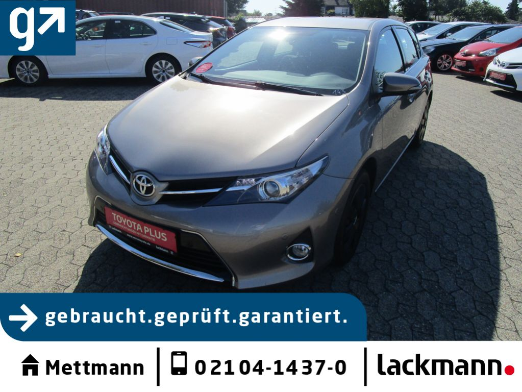 Toyota Auris 1.6 Valvematic START Edition, Jahr 2012, petrol