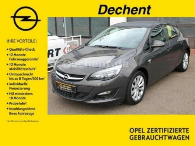 Opel Astra 1.4Turbo Active, PP hinten. Sitzhhzg, LM, Jahr 2013, Benzin