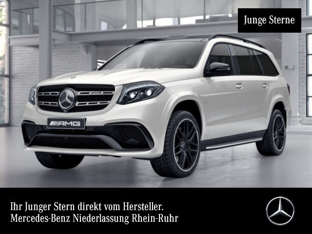 Mercedes-Benz GLS 63 AMG 4Matic Sportpaket Bluetooth Navi LED, Jahr 2017, Benzin