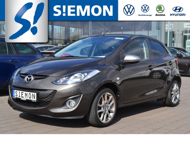 Mazda 2 1.3 Sendo 1.Hand Klimaauto SHZ PDC Radio-CD-MP3, Jahr 2014, Benzin