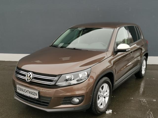 Volkswagen Tiguan Trend & Fun BMT 1.4 TSI Kurvenlicht Parklenkass. Rückfahrkam. PDCv+h Multif.Lenkrad, Jahr 2014, Benzin