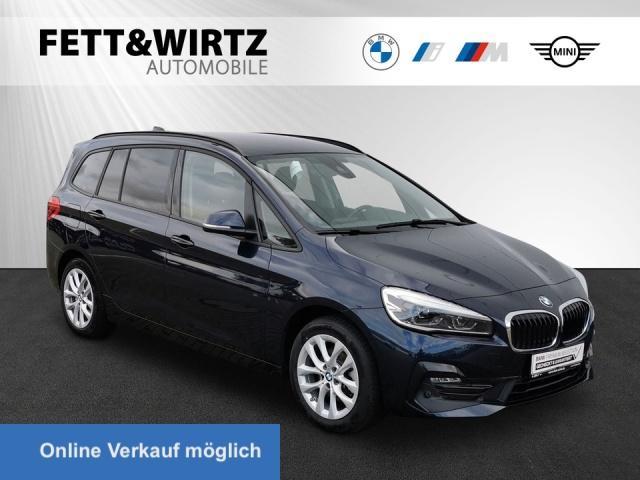 BMW 216 Gran Tourer SportLine Navi LED AHK R-Kamera, Jahr 2019, Benzin