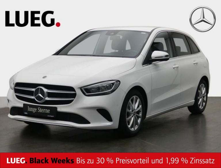 Mercedes-Benz B 180 d Progressive+MBUX+NavPrem+AHK+Spur+ParkAs, Jahr 2019, Diesel