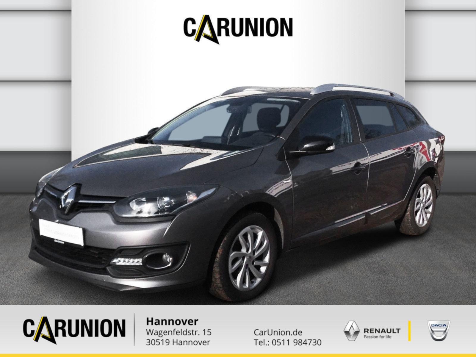 Renault Megane Grandtour TCe 115 Limited DeLuxe, Jahr 2015, Benzin