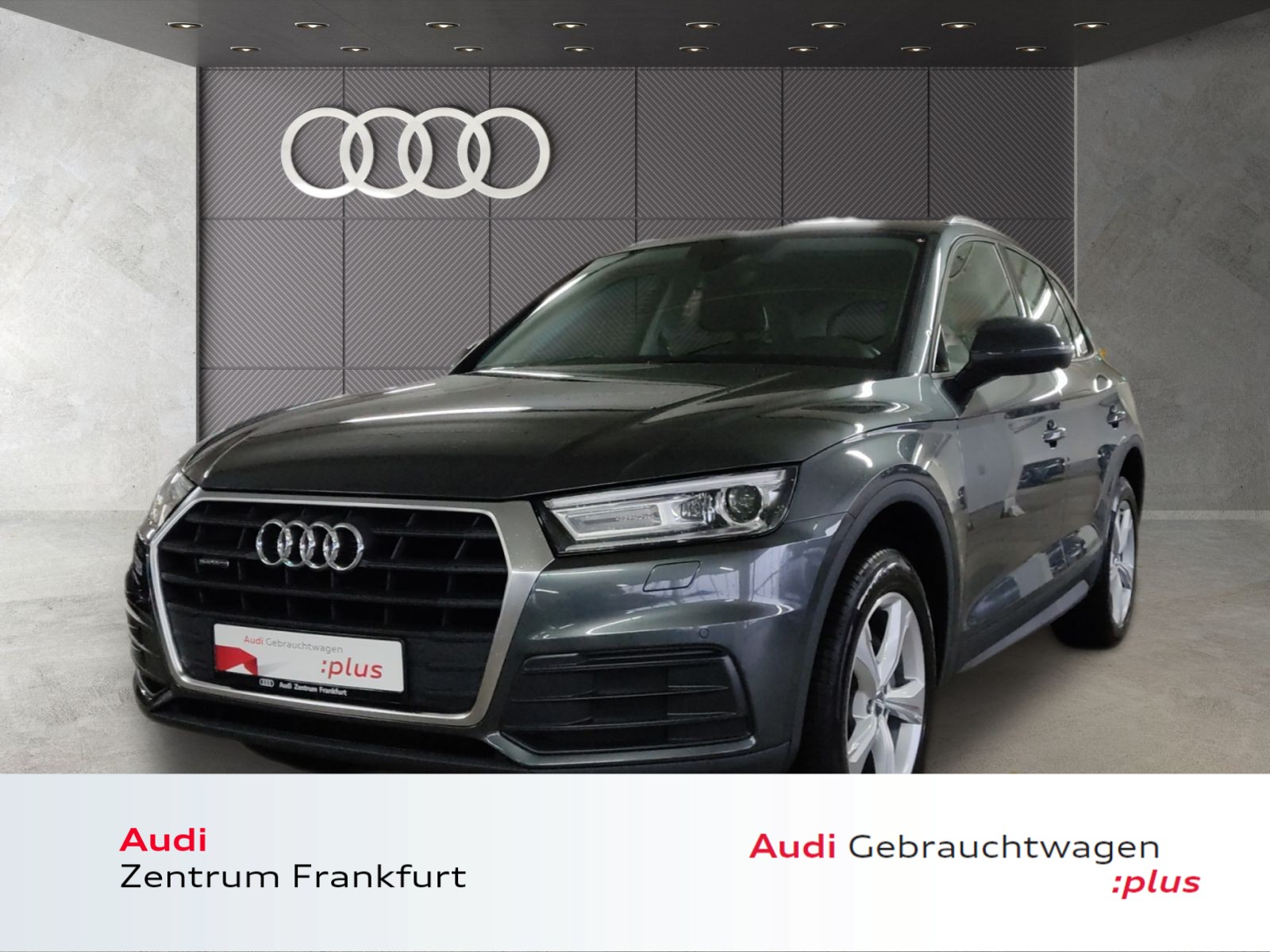 Audi Q5 40 TDI quattro S tronic Xenon AHK Navi PDC Tempomat, Jahr 2019, Diesel